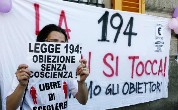 Manifestazione a favore della legge 194