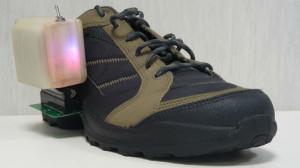 Le scarpe intelligenti, parte integrante del progetto cyberlegs